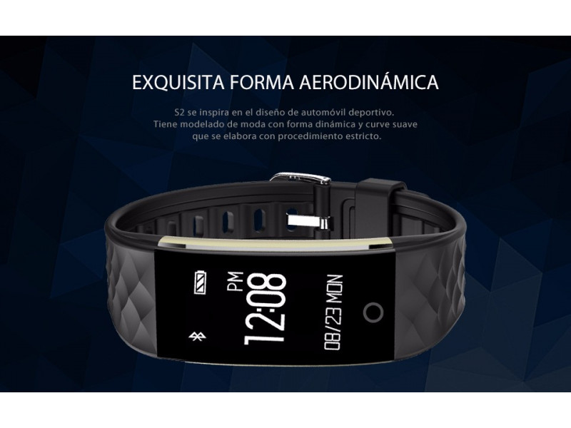 Imagen LEMFO S2 Smartband Android 4.3 Bluetooth Impermeable - Colores Varios 3