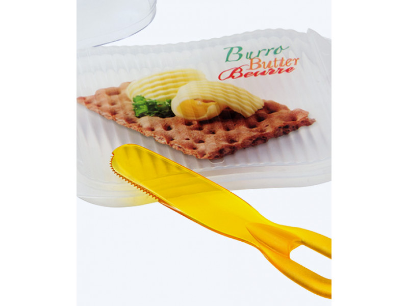 Mantequillera con cuchillo para untar Snips