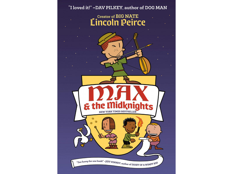 Imagen Max and the Midknights 1