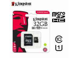 Imagen Memoria Micro SD 32GB Kingston Canvas Select