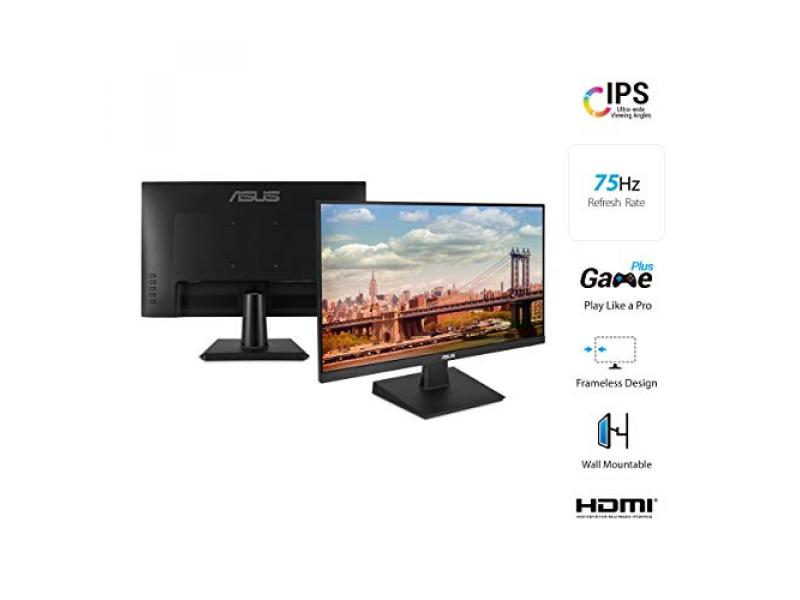 Imagen Monitor Asus VA24EHE IPS / 75 HZ / Flicker Free / Adaptive-Sync/FreeSync™ 5