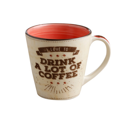 ImagenMug Drink a lot of Coffee 405 cc