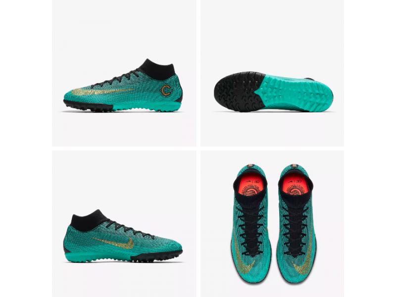 bb1d4a4c381f Nike MercurialX Superfly VI Academy CR7 TF: AJ3568-390 GREYKA STORE