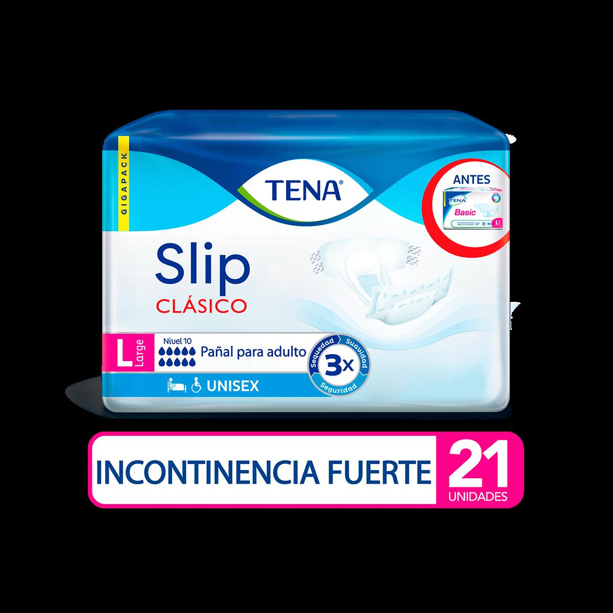 Imagen Pañal TENA Slip Clasico L x 21 Und