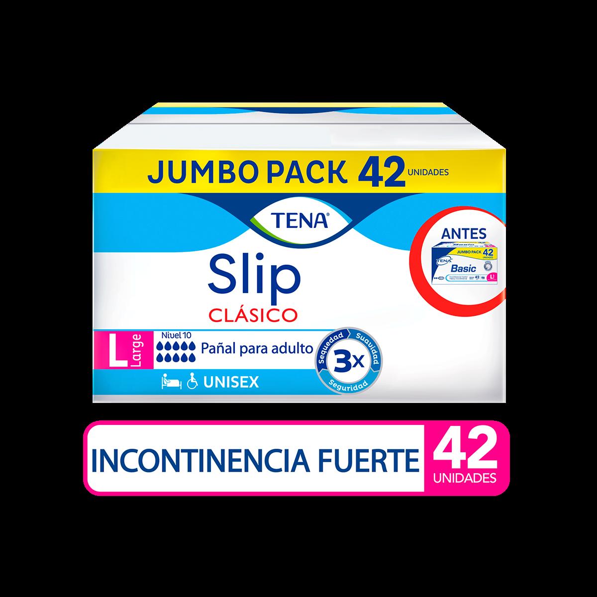 Imagen Pañal TENA Slip Clasico L x 42 Und