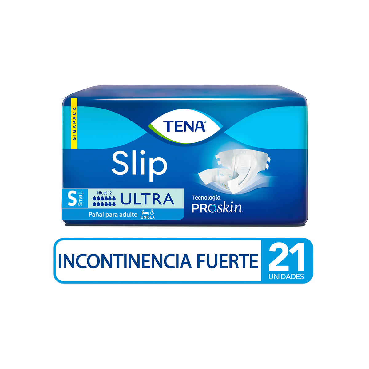 Imagen Pañal TENA Slip Ultra S x 21 Und