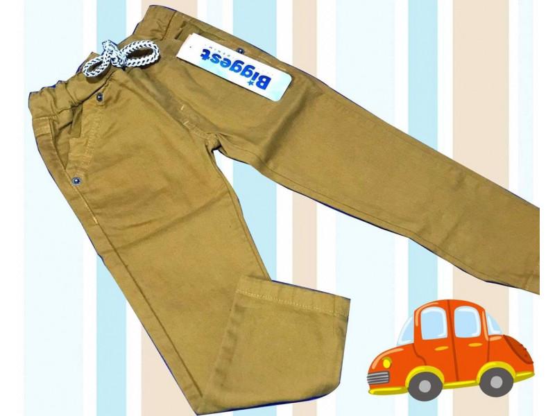 Pantalon Drill En Colores Para Nino 8441 Surtibello