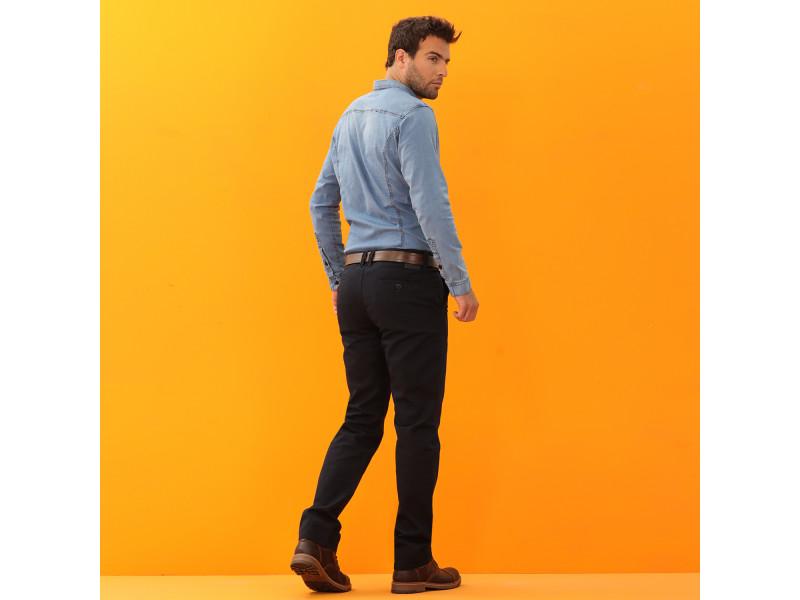 Pantalon Drill Hombre Bota Recta 20707