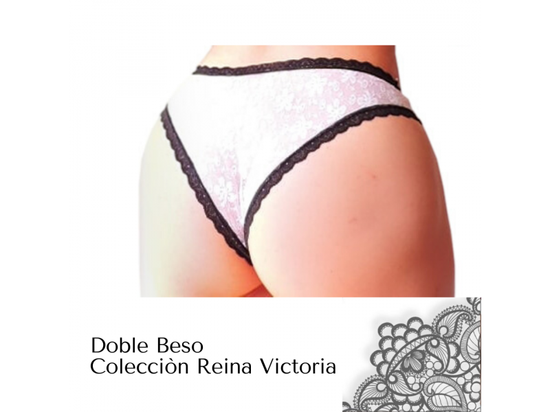 Imagen PANTY TANGA Doble Beso -Colecciòn Reina Victoria 2