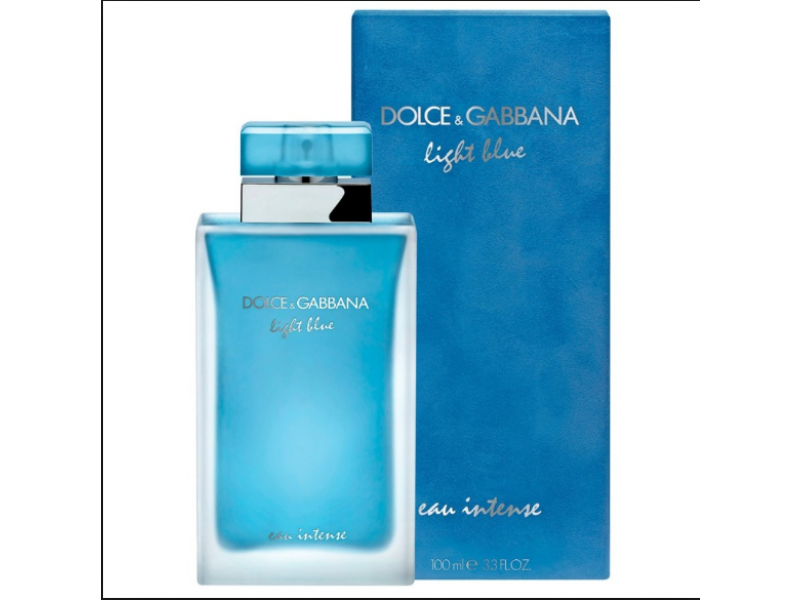 Imagen Perfume Dolce & Gabbana Light Blue D&g Eau Intense 3.3oz/100ml 1