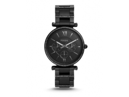 Imagen RELOJ FOSSIL CARLIE MULTIFUNCTION BLACK STAINLESS STEEL WATCH