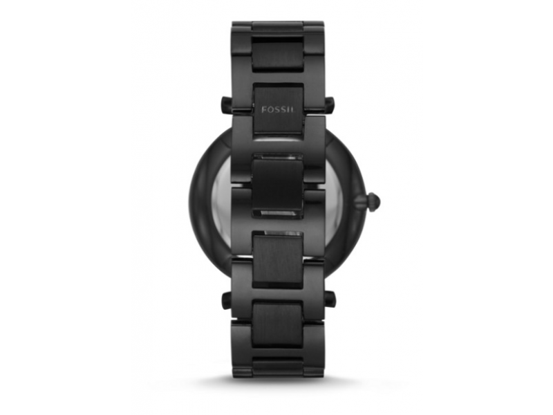 Imagen RELOJ FOSSIL CARLIE MULTIFUNCTION BLACK STAINLESS STEEL WATCH 2