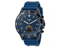 Imagen Reloj Fossil Hybrid Smartwatch - Q Crewmaster Blue Silicone