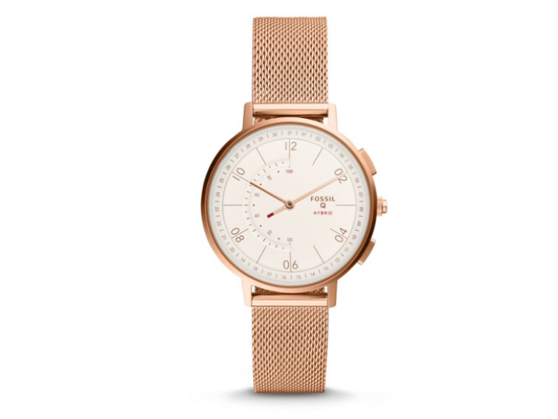 Imagen RELOJ FOSSIL HYBRID SMARTWATCH - Q HARPER ROSE GOLD-TONE STAINLESS STEEL 1