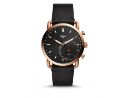 Imagen RELOJ INTELIGENTE HIBRIDO FOSSIL - Q COMMUTER BLACK LEATHER