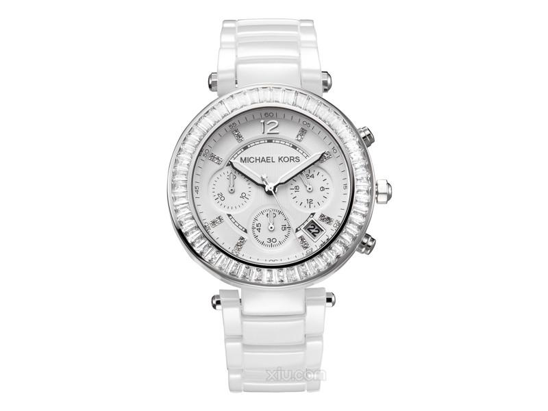 fabricante reloj michael kors slim runway mk3908 white