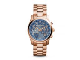 c6843c8c4917 Reloj Michael Kors Wren Color Oro Rosa Cronógrafo Mujer Mk6096  Mk6096