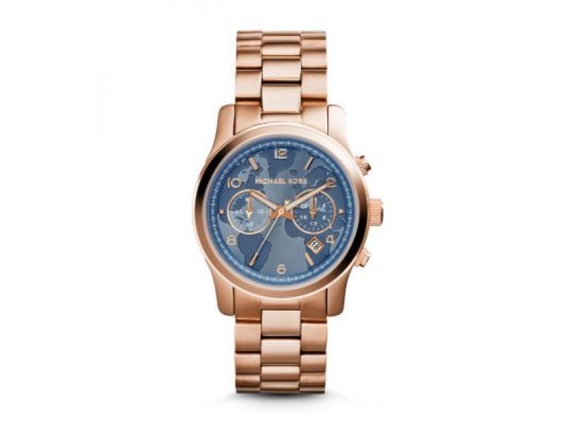 Kors Michael Cronógrafo Mujer Reloj Color Oro Rosa Mk5972 c5q4RLA3Sj