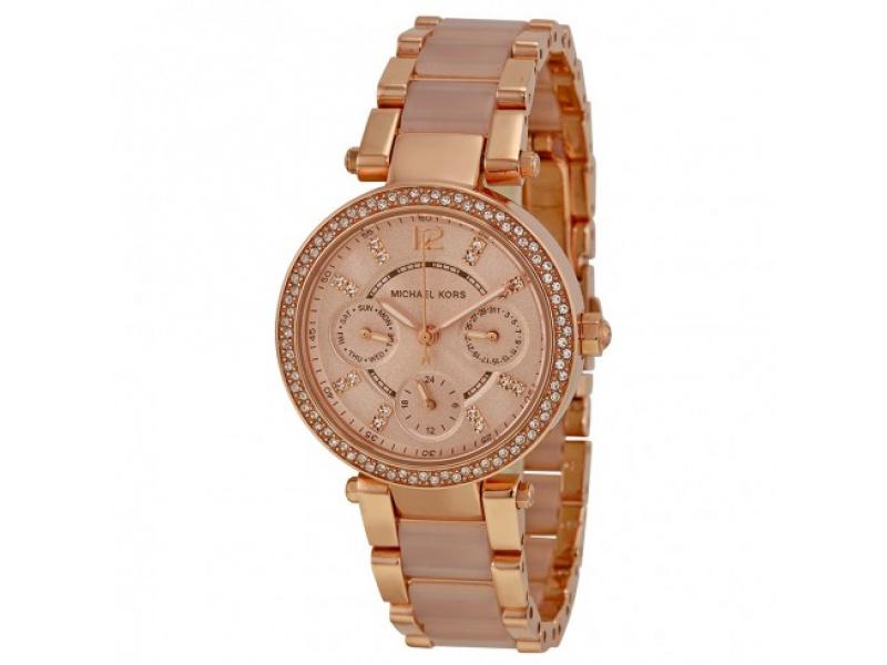 23500f0fb927 Reloj Michael Kors Rosa Dorado Dama Mk6110  Mk6110