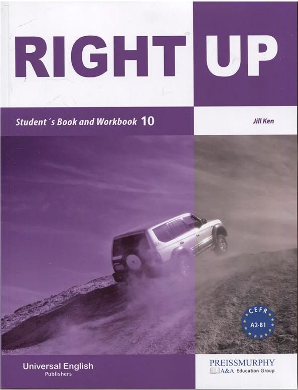 ImagenRight up student´s book and workbook 10