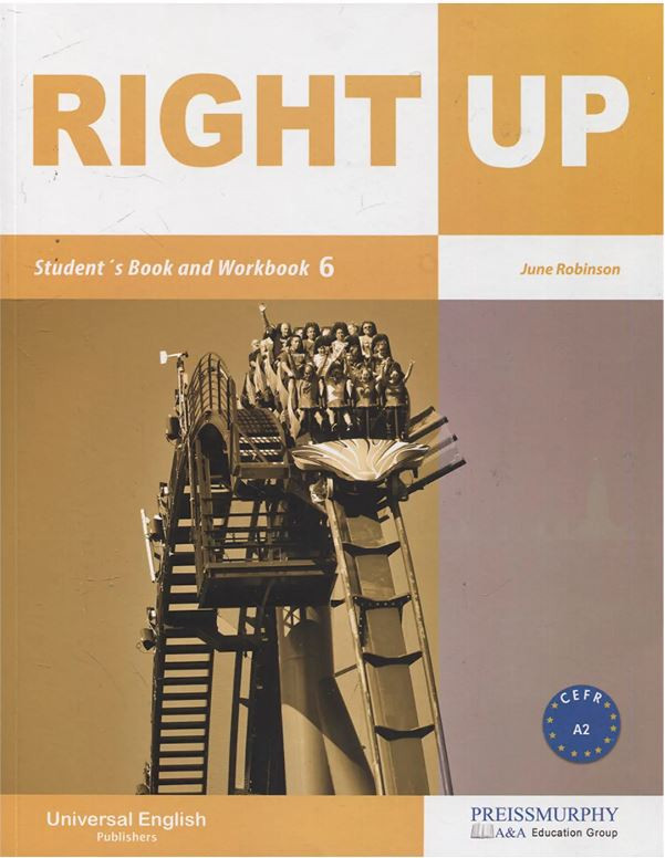 ImagenRight up student´s book and workbook 6