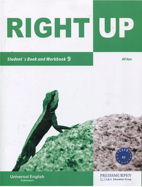 ImagenRight up student´s book and workbook 9