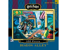 Imagen Rompecabezas mini New York puzzle- Harry Potter  Diagon Alley. 100 Piezas