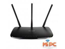 Imagen Router inalámbrico N 450Mbps TL-WR940N - Tres Antenas