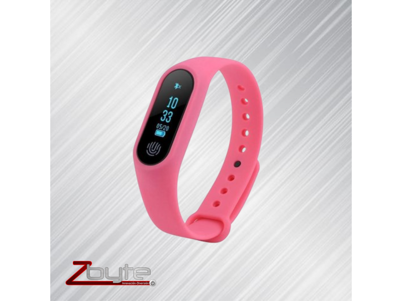 Imagen Smart band M2 color rosado 1