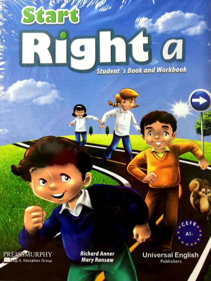 ImagenStart right a student´s book and workbook