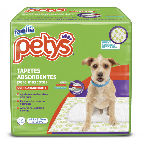 Imagen Tapetes Absorbentes Petys x 12 und