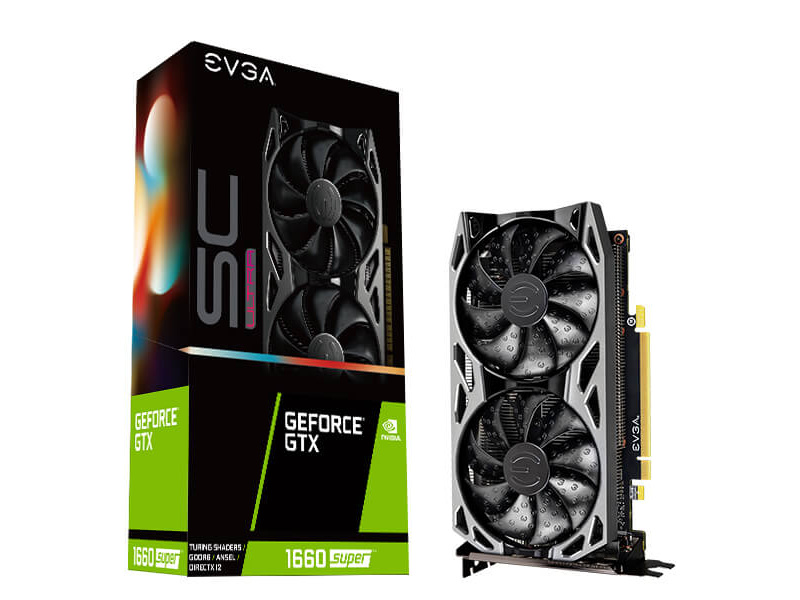 Tarjeta De Video Gtx 1660 Super Evga Sc Ultra Dual Fan