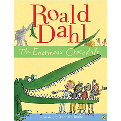 ImagenThe Enormous Crocodile. Roald Dahl. Ilustrated by Quentin Blake