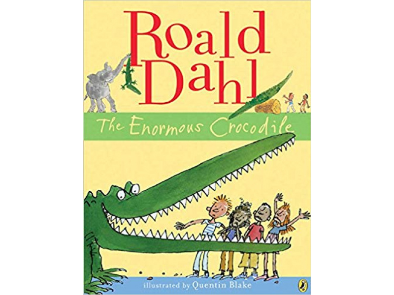 Imagen The Enormous Crocodile. Roald Dahl. Ilustrated by Quentin Blake 1