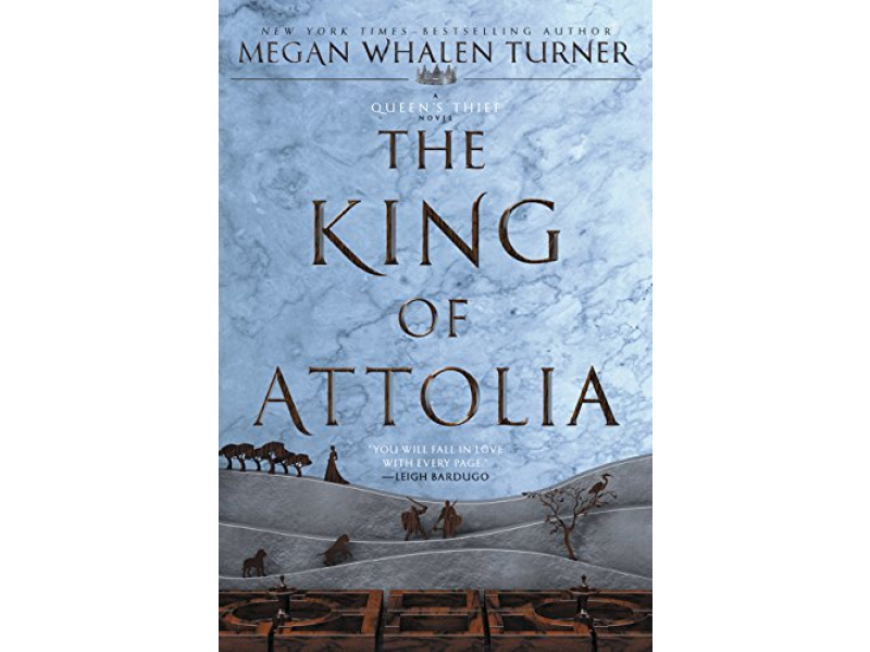 Imagen The King of Attolia  - Queen's Thief Series Volume 3 1