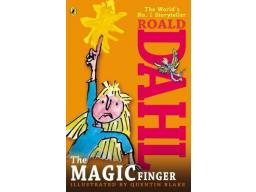 Imagen The Magic Finger. Roald Dahl.  Ilustrated by Quentin Blake.
