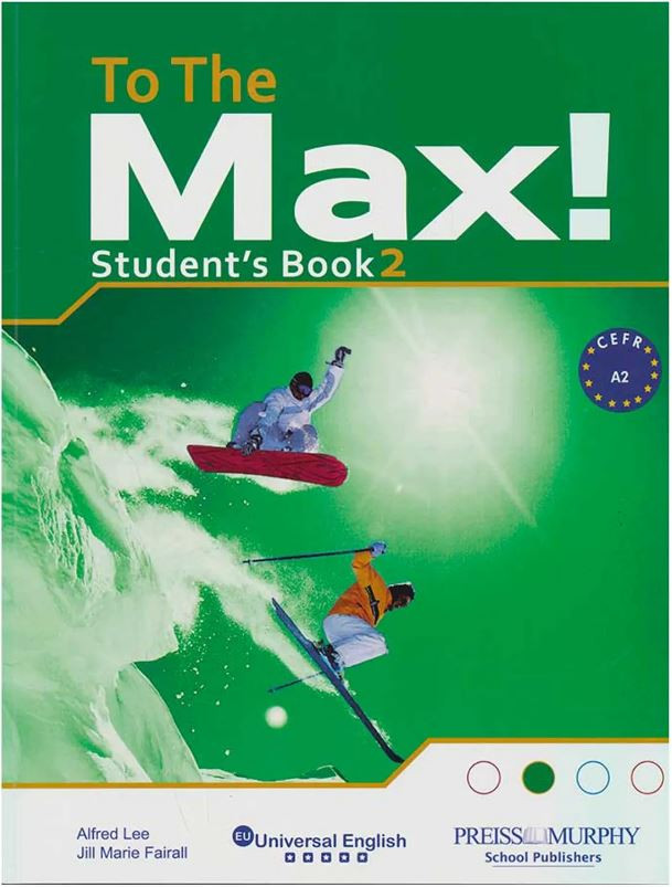 ImagenTo the max! Student`s book 2