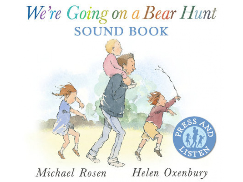Imagen We're Going on a Bear Hunt Sound Book 1
